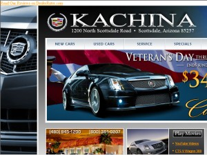 Kachina Cadillac Hummer Saab - Scottsdale, AZ - Automobile Dealers